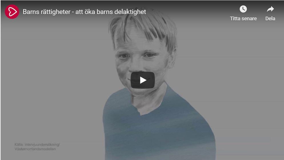 Film om att öka barns delaktighet
