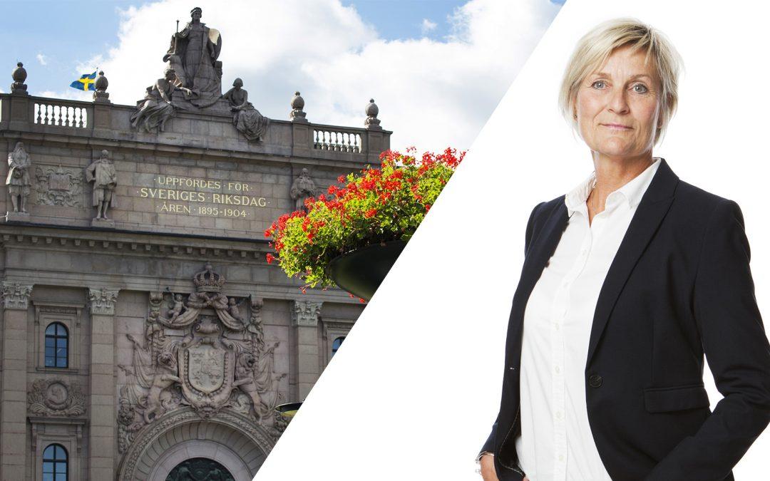 GFO inbjuden till Sveriges riksdag