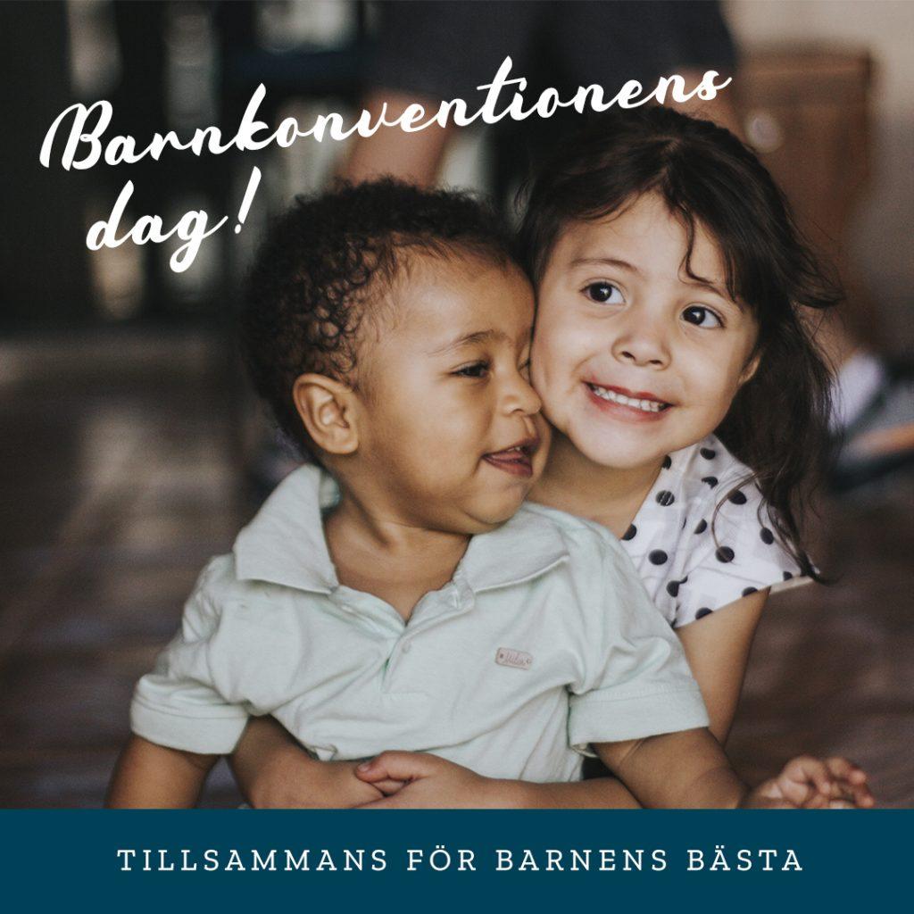 Barnkonventionens dag - tillsammans för barnens bästa