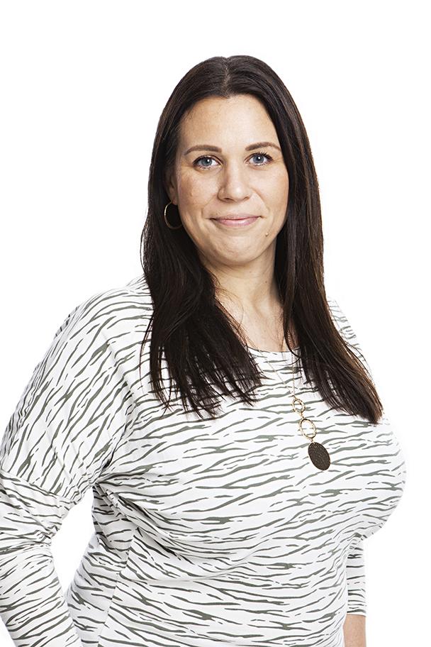 Mikaela Björklund Fahlberg, familjehemssamordnare på GFO