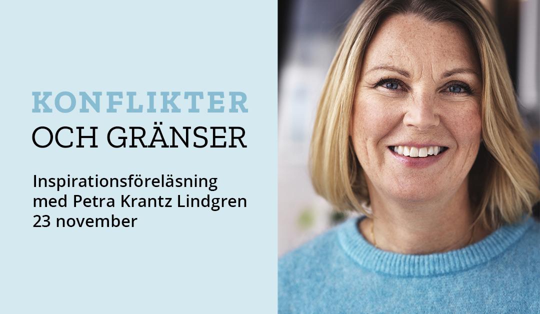 Inspirationsföreläsning med Petra Krantz Lindgren