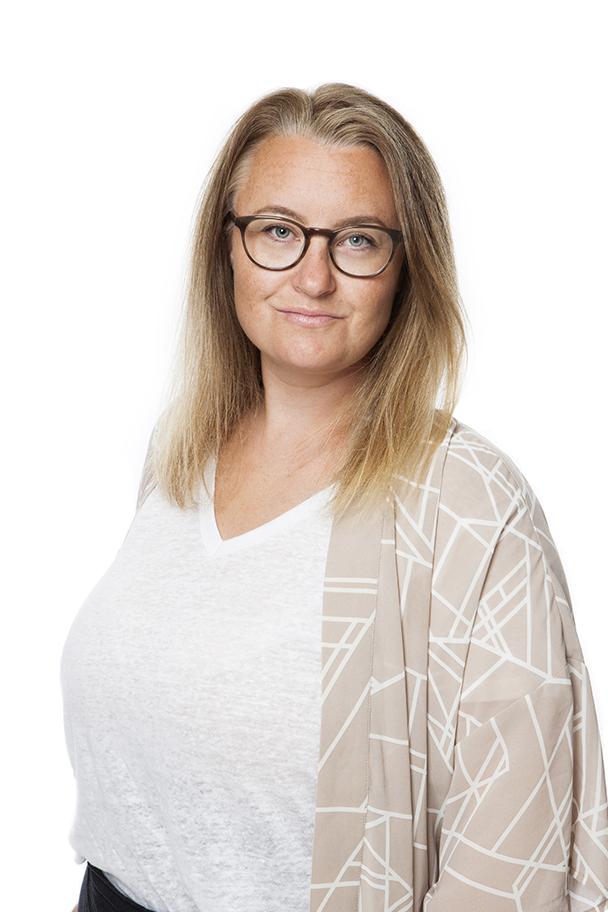 Christine Granholm, kommunikatör på Gemensam familjehemsorganisation GFO